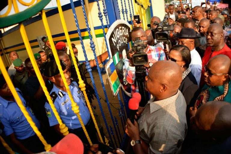 Governor Wike demands Rivers State Police Command leave the state (photo news)