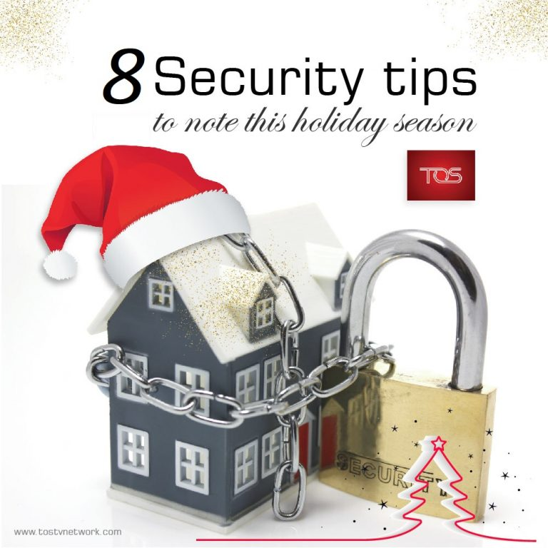 8 Security tips to note this Christmas holiday