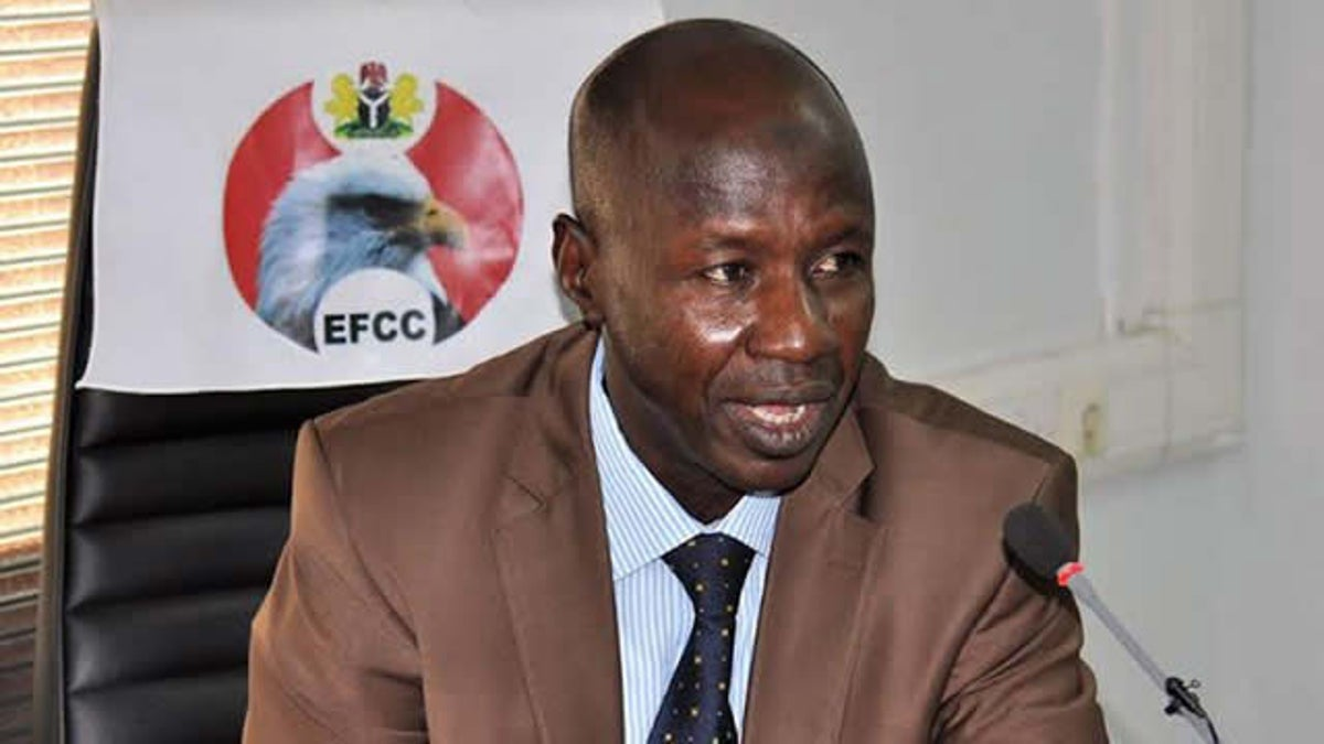 EFCC Chairman 'Ibrahim Magu' not arrested by DSS   TOS TV NETWORK