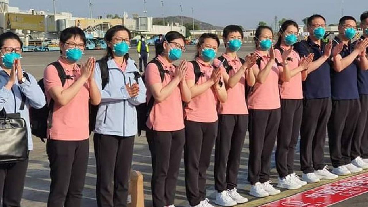 Chinese medical team not treating COVID-19 patients in Nigeria ...